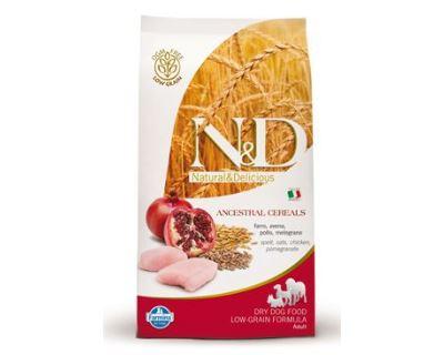 N&D Low Grain Dog Adult Mini Chicken & Pomegranate 800 g