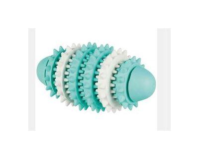Trixie Dentafun Rugby Gumový valec pre zdravé zuby, 15 cm