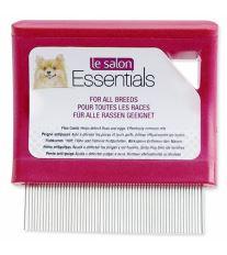 Le Salon Essentials Dog hrebeň pre psov blšáku jemný