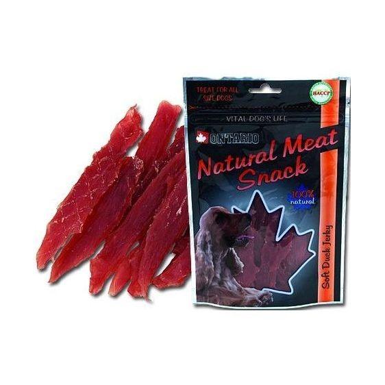85944b158 Ontario Snack Duck Jerky - sušené kačacie mäso pre psov 70 g | Labet.sk