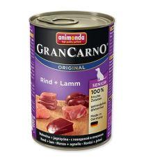 Animonda Gran Carno Senior Konzerva - teľacie & jahňacie