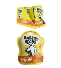 BARKING HEADS Baked Treats Top Bananas 100g