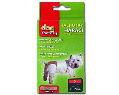 Dog Fantasy háracie nohavičky béžovej - veľkosť XXXL