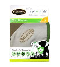 Deka SCRUFFS Insect Shield Blanket hnědá 110 cm 1ks