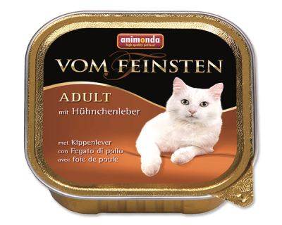 Animonda Vom Feinsten Paštéta - kuracia pečeň pre dospelé mačky 100 g