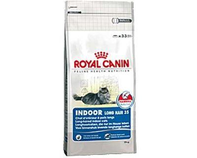 Royal Canin Feline Indoor Long Hair - pre dospelé dlhosrsté mačky žijúce v byte 2 kg