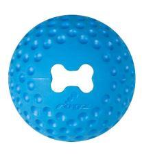 Hračka pes Lopta GUMZ malý 4,9cm Modrá 1ks Rogz