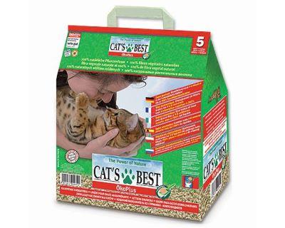 Cats Best ÖkoPlus hrudkujúce podstielka 5 l