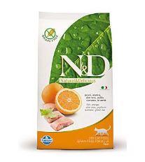 N&D Grain Free Cat Adult Fish & Orange - rybia & pomaranč bezobilné pre dospelé mačky