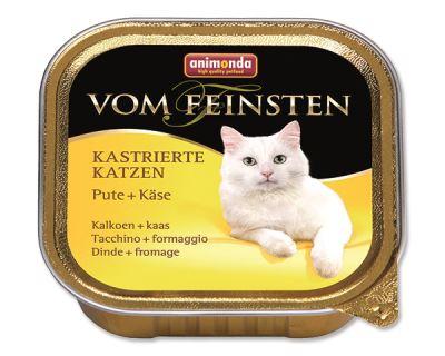Animonda Vom Feinsten Castrate Paštéta - morka & syr pre kastrované mačky 100 g