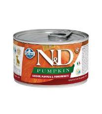 N&D DOG PUMPKIN Puppy Chicken & Pomegranate Mini 140g