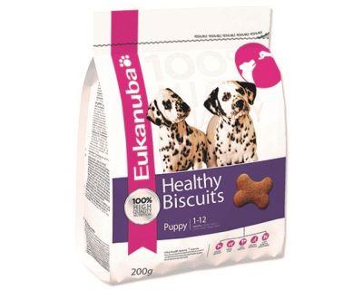 Eukanuba Biscuit Puppy - sucháre pre šteňatá 200 g