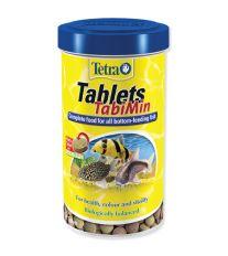 Tetra TabiMin krmivo pre ryby žijúce pri dne v tabletách