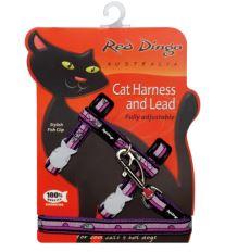 Red Dingo Postroj s vodítkem - kočka - Mouse