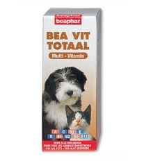 Beaphar Vit Total multivitamínové kvapky 50 ml