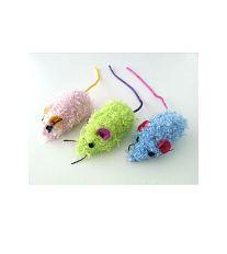 Hračka Kočka Chlupatá myška Mouse,  6,5cm 1ks Lill