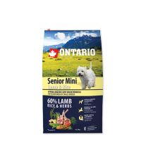 ONTARIO Senior Mini Lamb & Rice