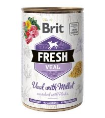 Konzerva BRIT Fresh Veal with Millet 400g