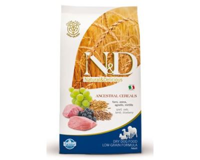 N&D Low Grain Dog Adult Mini Lamb & Blueberry 800 g