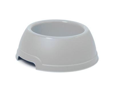 Plastová miska s protiskluzem Argi - šedá - 750 ml