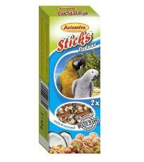 Avicentra tyčinky veľký papagáj - orech + kokos 2ks