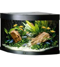 Juwel Trigon 190 akvárium set rohový čierny 98x60x50 cm, objem 190 l