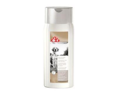 8in1 Šampón White pearl pre psov s bielou a svetlou srsťou 250 ml