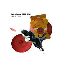 Hračka pes létající talíř Dr.Dog MEDIUM 21cm ČERVENÝ