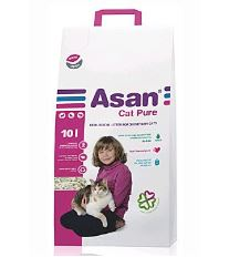 Asan Cat Pure ekologická podstielka 10 l