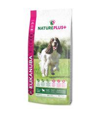 EUKANUBA Nature Plus+ Adult Medium Breed Rich in freshly frozen Lamb