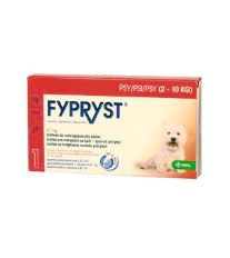 Fypryst Spot-on Dog S sol 3x0,67ml (2-10kg)