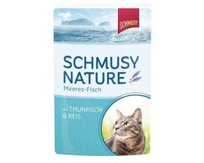 Schmusy Fish kapsička - tuniak & ryža 100 g