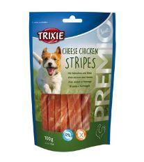 Trixie Premio - Chicken cheese stripes - kuřecí pásky se sýrem 100g
