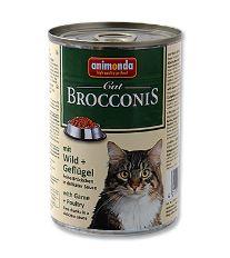 Animonda Brocconis Konzerva - zverina & hydina pre dospelé mačky 400 g