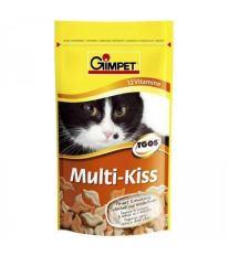 Gimpet Multi-Kiss Pusinky s vitamínmi - pochúťka pre mačky 50 g