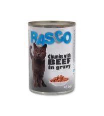 Konzerva RASCO hovädzie kúsky v šťave 415 g