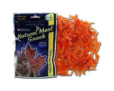 Ontario Snack Soft Chicken Jerky - krehké kuracie kusy 70 g