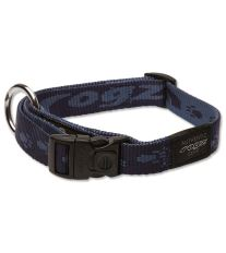 Obojek pre psa nylonový - Rogz Alpinist - modrý - 2 x 34 - 56 cm