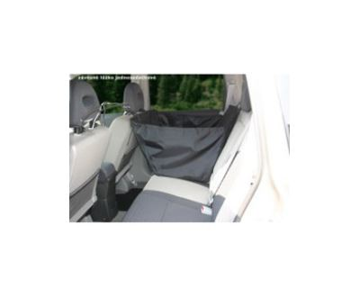 GreenDog Lôžko do auta závesné jednosedadlové čierne