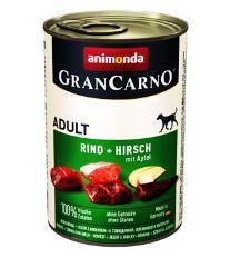 Animonda Gran Carno Adult Konzerva - jelenie mäso & jablká pre psov
