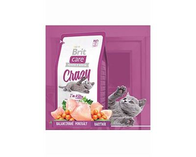 Brit Cat Crazy I`m Kitten - kura & ryža pre mačiatka do 1 roka 400 g