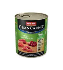 Konzerva ANIMONDA Gran Carno hovězí + kachní srdce 800 g