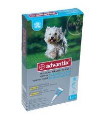 2 ks Advantix Spot on pre psov 4-10kg 1x1ml + Antiparazitné ponožky Bayer ZADARMO