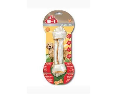 8in1 Delights žuvacie kosť - veľkosť L 100 g