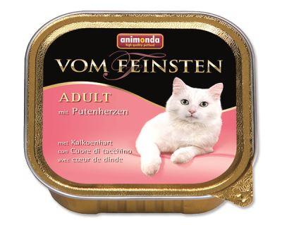 Animonda Vom Feinsten Paštéta - hydinové srdcia pre dospelé mačky 100 g