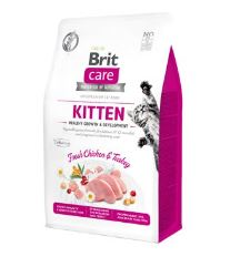Brit Care Cat GF Kitten Healthy Growth&Develop. 0,4kg