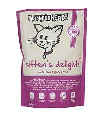 Meowing Heads Kittens Delight - kuracie pre mačiatka