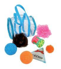 Zolux sada hračiek pre mačky, 7 kusov