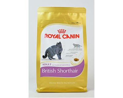 Royal Canin Breed Feline British Shorthair - pre dospelé britské krátkosrsté mačky 400 g