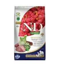N&D GF Quinoa DOG Digestion Lamb & Fennel 2,5kg